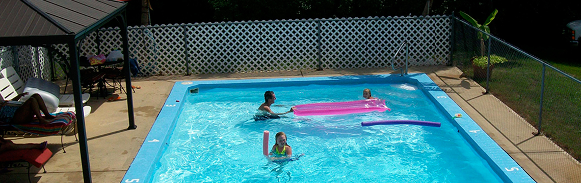 Come for the lake and as a bonus, enjoy our pool!